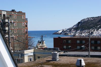 View of Narrows from back deck