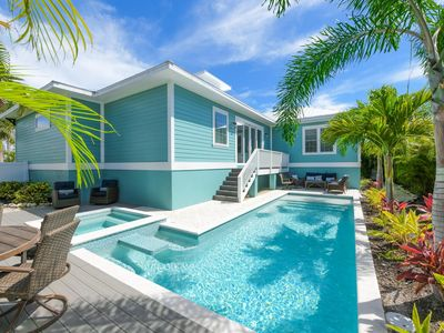 Photo for Beachy Keen- Beautiful 4 bedroom home with bunk loft, private pool