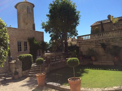 Photo for A truly unique chateau experience in the heart of Provence in Goult - Gordes