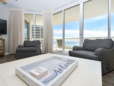 Photo for Remodeled, elegant beachfront condo w/private balcony! 🐚