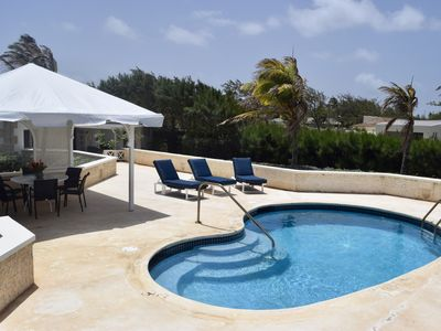 Photo for Paradise Point: Beautiful Two Bedroom Ocean Front Villa w Private Pool and Deck.