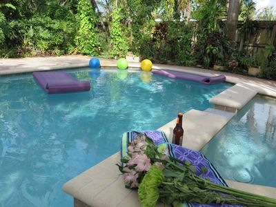 Photo for (GHH) Private Yard and pool, 3B/2B, Butterfly Garden