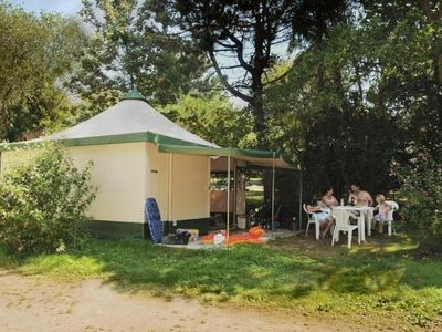 Photo for Camping La Grande Plage *** - Eco 2-room Toile Bungalow 5 People