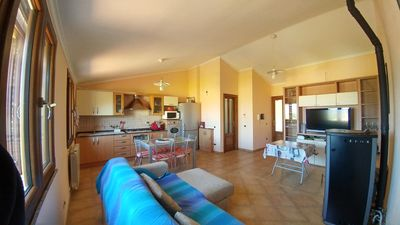 Photo for Apartment, 400m from the beach of Porto Frailis