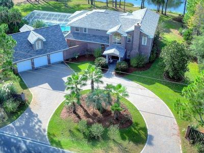 Photo for Private Pool & Hot Tub, Perfect for Large Families, Santa Rosa beach- Lake view