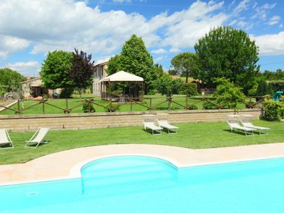 Photo for Trevinano Apartment, Sleeps 5 with Pool and WiFi