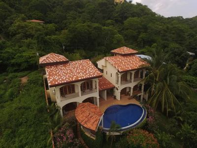 Photo for Luxury family and friends compound with amazing ocean and sunset vistas