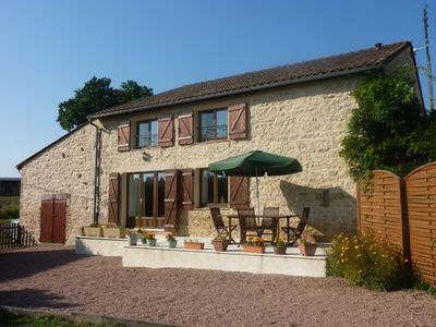 Photo for Pretty stone house in the Natural Park Perigord-Limousin - 8 people WIFI