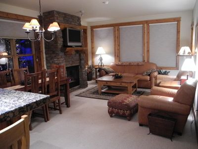 Photo for Mountain Luxury Condo, 90 Yrds to Lift, Hot Tub, Great Rates!!