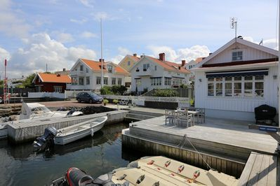 Cottage with seaview and private dock