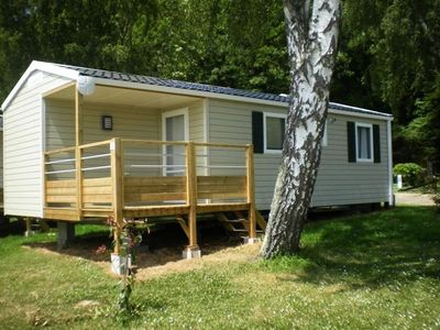 Photo for Camping Bar Y Va **** - Mobil-Home Alize 4 Persons + 3 Children
