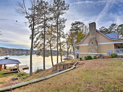 Photo for NEW! Spacious Home on Lake Sinclair w/ Boat Dock!