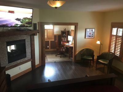Photo for Private Master Suite/Yard/Fireplace/Hot Tub