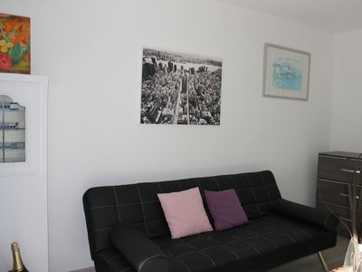 Photo for Very nice apartment 2 rooms in villa with pool.