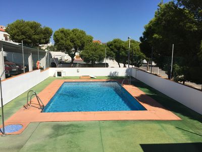 Photo for Excellent Apartment with sea views, pool and parking
