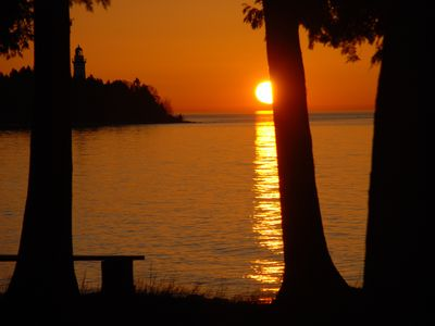 Photo for Lake-house With The Best View Of Cana Island And It's Lighthouse You Can Find!