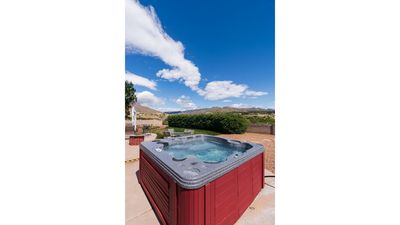 Hot Tub and Open Sky