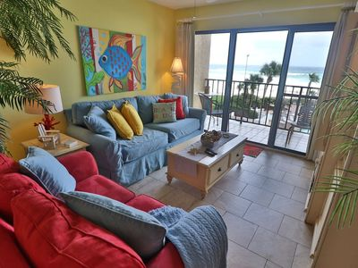 Photo for 2nd Floor Summerhouse Condo Directly On Gulf! Free Beach Chairs!