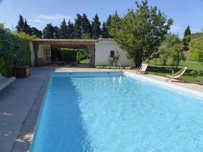 Photo for Perfect to relax in Provence and / or visit the Alpilles, the Luberon ...