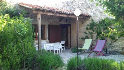 Photo for Family  friendly house  near  the beaches and historic town of La Rochelle