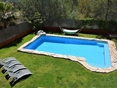 Photo for Villa Sitges El Olivo. Pool XXL Heated 30º.10 minutes by car from Sitges