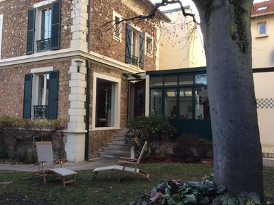 Photo for charming house Versailles, 100 m from the Viroflay Rive Gauche train station