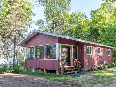 Photo for NEW! Cottage on High Lake - 2 BD/1 BA - Sleeps 5  Pet Friendly! Class A Fishing!