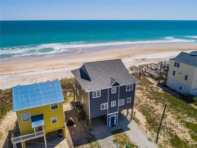 Photo for Reel Peace: 4 BR / 3.5 BA OCEANFRONT house in North Topsail Beach, Sleeps 12