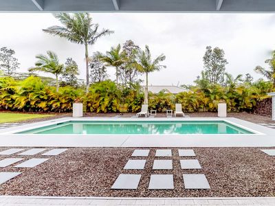 Comfortable home w/ private pool, furnished patio & enclosed yard!