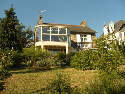 Photo for Summer rental near the seafront and shops, raised garden south