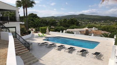 Photo for Gated villa with larger than average private pool & lovely views in Javea