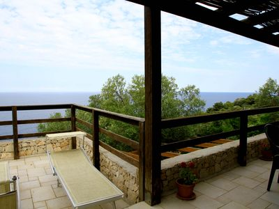 Photo for Wonderful villa with breathtaking views of the crystal clear sea of ​​Salento