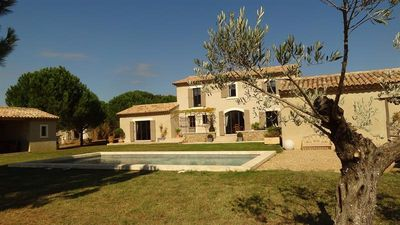 Photo for Beautiful farmhouse in Luberon panoramic view private pool and free wifi