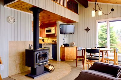 Wood stove for cozy fires