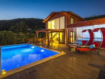 Photo for Perfect Secluded Honeymoon Villa for Two, with Heated Outdoor and Indoor Pool