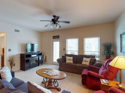 Photo for NEW LISTING! Beautiful condo near the beach with shared pool and Free WiFi!