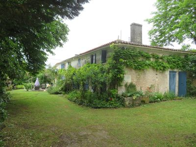 Photo for Charming renovated  farmhouse with big private swimmingpool