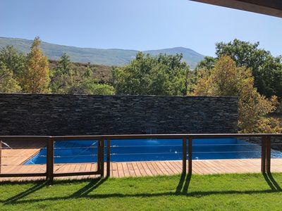 Photo for Rural apartment with private garden, fireplace, barbecue, jacuzzi and pool