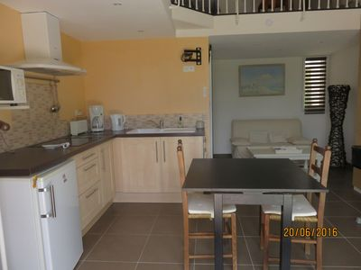 Photo for Charming and bright independant studio in private property