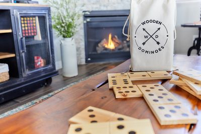 Select a game from our growing collection and cozy up to the fire.