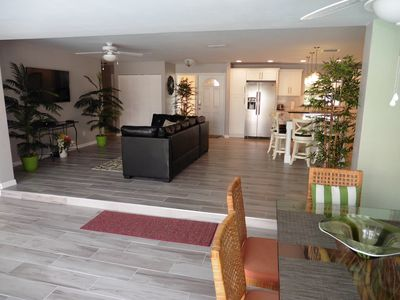 Large open concept living area, perfect for entertaining.