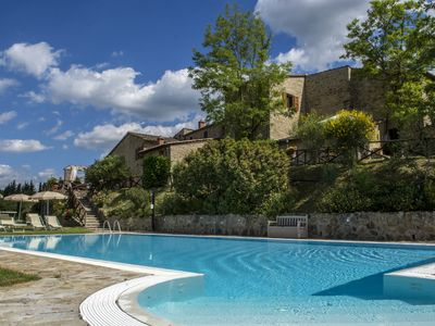 Photo for 1BR Apartment Vacation Rental in Castellina in Chianti, Siena