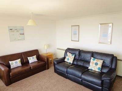 Photo for Sea Spirit, Fantastic Sea Views, Near Beach, Patio Area, Free Parking & WiFi .
