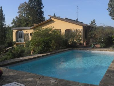 Photo for Love nest with swimming pool in natural surroundings and yet close to Florence