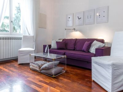 Photo for San Gottardo apartment in Centro Storico with WiFi & air conditioning.