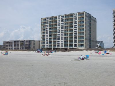 Photo for Beautiful 3 Bedroom Beachfront Condo, In Family Friendly North Myrtle Beach
