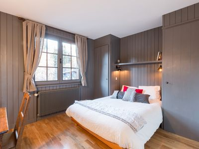 Photo for Chalet apartment overlooking the Mont Blanc