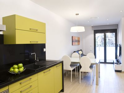 Photo for BARCELONA | LUXURIOUS 1 BEDROOM APT WITH BALCONY¦