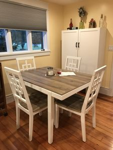 Dining Area with pantry closet