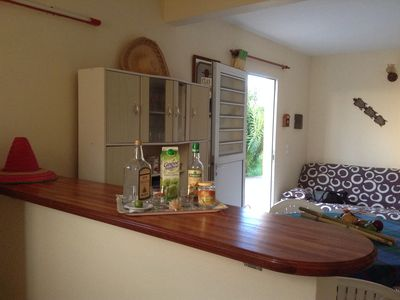 Photo for Quiet and air conditioned T2 apartment in Sainte Anne